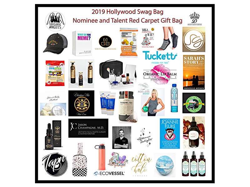 Cotton Halo Company Bath Bombs included in the Hollywood Swag Bag honoring  Emmy Weekend 2019